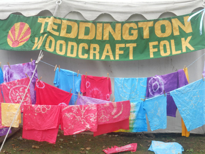 Picture from a Teddington Woodcraft camp